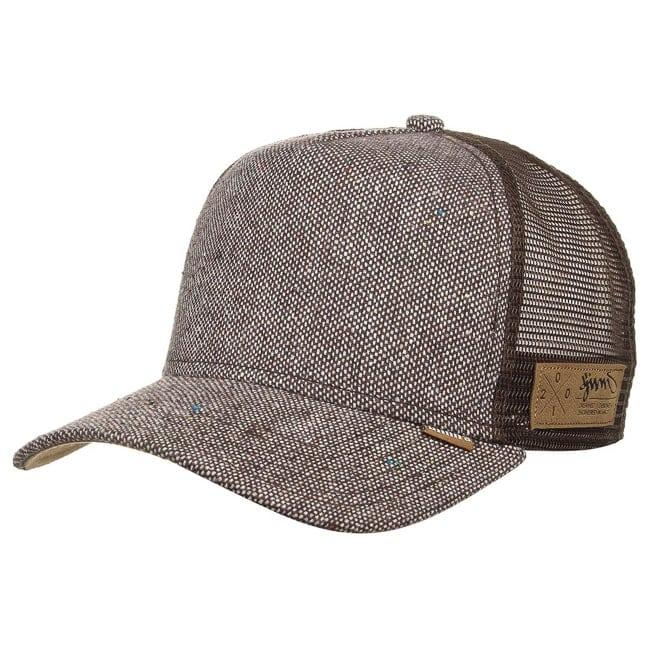 spotted tweed trucker cap by djinns caps. Black Bedroom Furniture Sets. Home Design Ideas