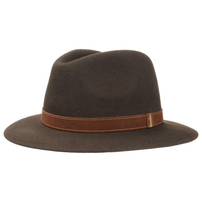 3858f30aa7e4a Traveller Marrone Hat by Borsalino