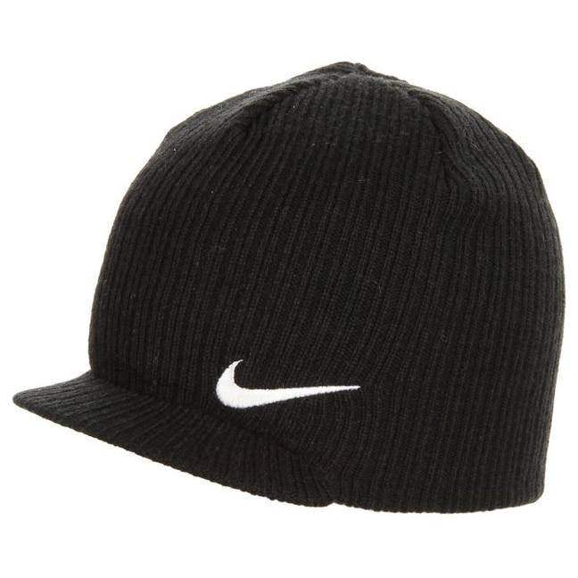 Qt Swoosh Peaked Beanie By Nike 17 95