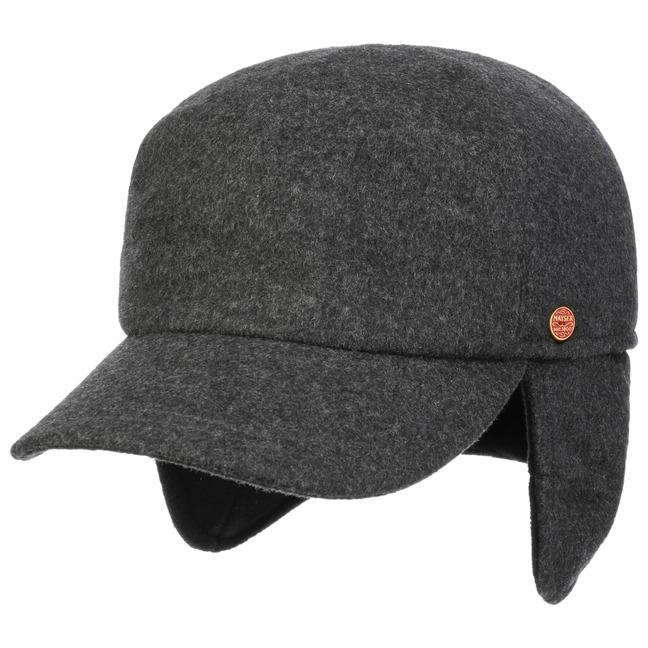 Premium Earflaps Baseball Cap by Mayser f784fa9e445
