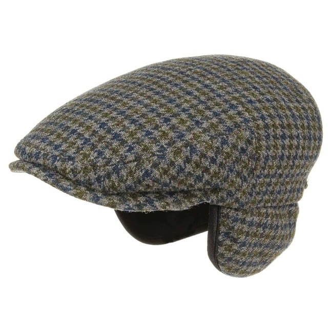68e789cd Kent Wool Earflaps Flat Cap by Stetson - 69,00 €