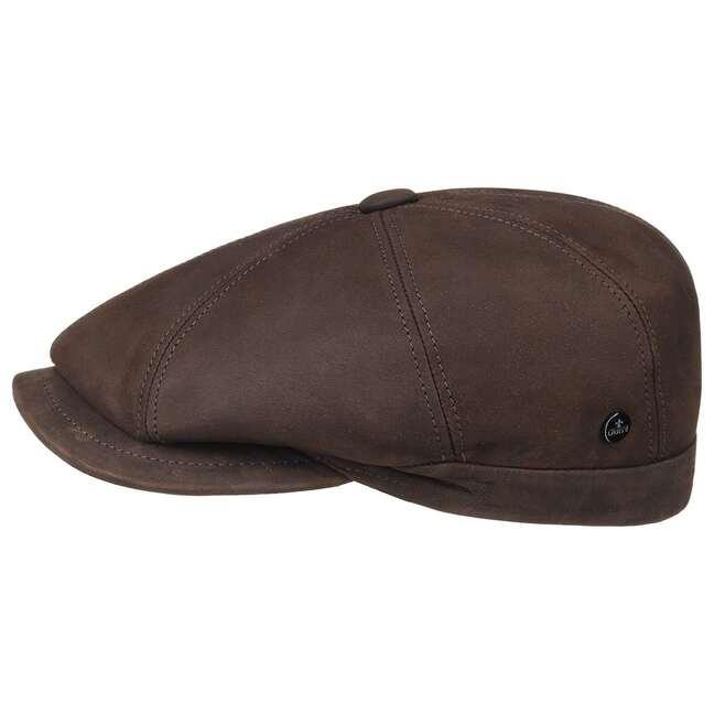 8aefb6a4f4eb10 Nappa Wax Leather Flat Cap by Lierys - 79,95 €