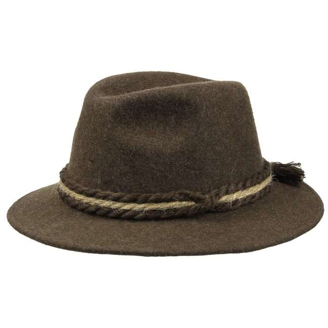Traditional Tyrolean Wool Felt Hat 16d0d166378e