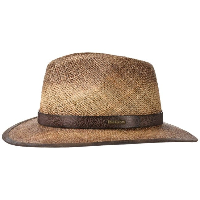 fb0cec61b9a Rodeo Seagrass Traveller Hat by Stetson