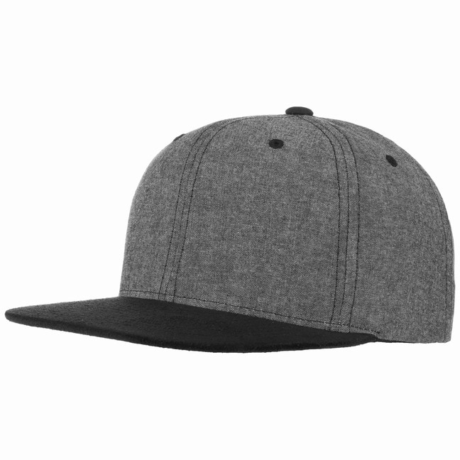Chambray Suede Snapback Cap 82444c137bc