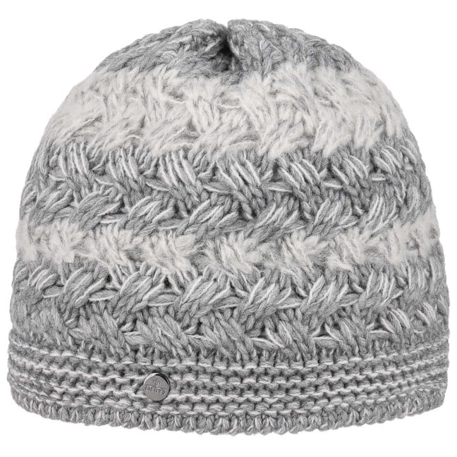 Multicolour Knit Hat with Flower by Lierys Cloth hats Lierys nWyXRhUn5B