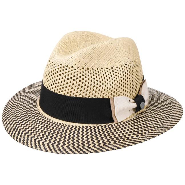 Coloured Toyo Traveller Straw Hat by Lierys Sun hats Lierys Sof3F