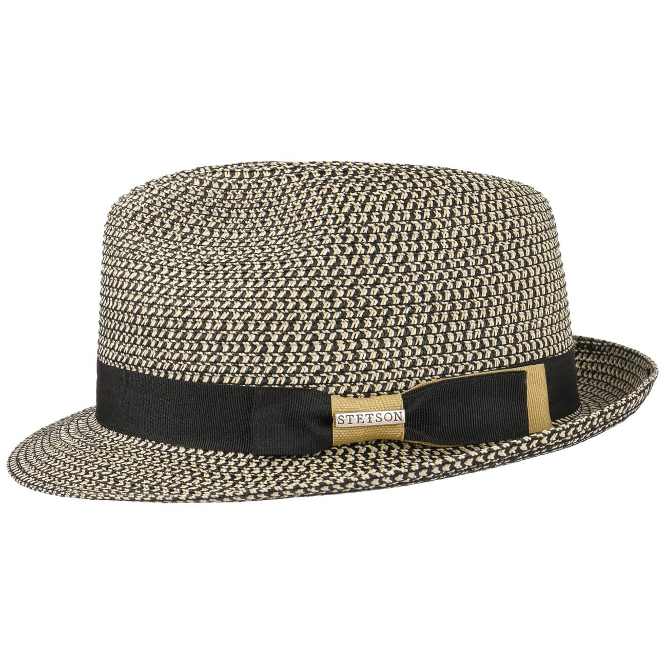Contrast Colour Toyo Trilby Hat by Stetson  beach hat