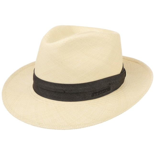 648d8d602bdcd Panama Braid 2-3 Fedora Hat by Stetson