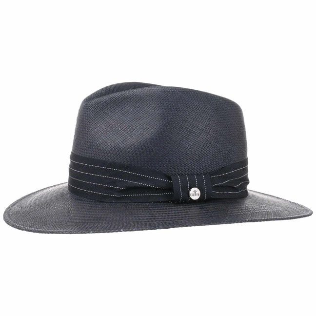 Blue Traveller Panama Hat by Lierys fe3cd948fc3c