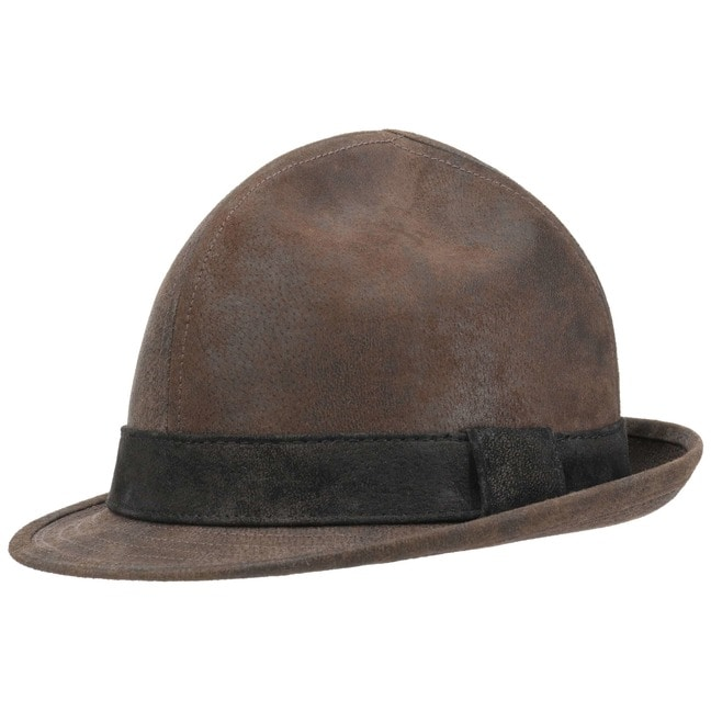 ea75bcdeb27cd Dreispitz Leather Hat by Lierys