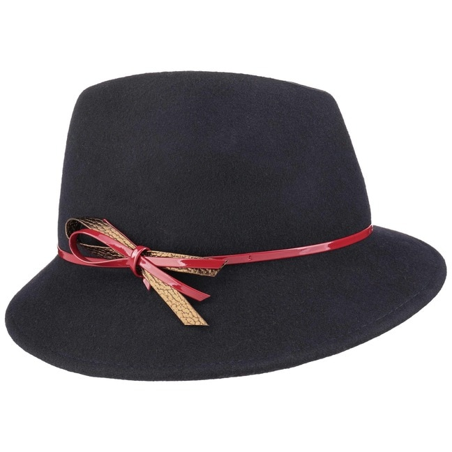 Women´s Trilby with Patent Loop by Lipodo Trilby hats LIPODO New Arrival Cheap Online 0nDNGx7a