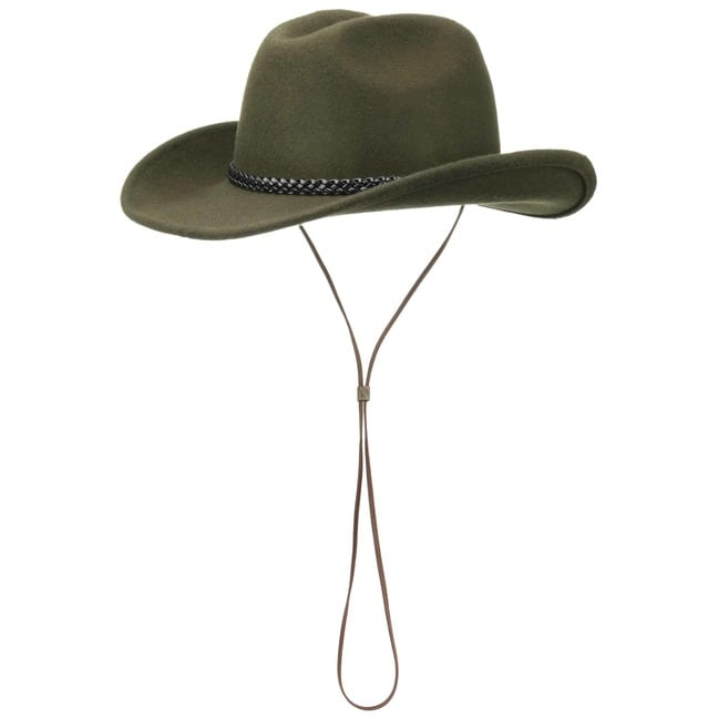 Cowboy Hat with Chin Strap by Lipodo 4a60b286d09
