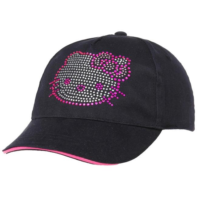 50cfb7c5f99 Hello Kitty Rhinestone Girls Cap