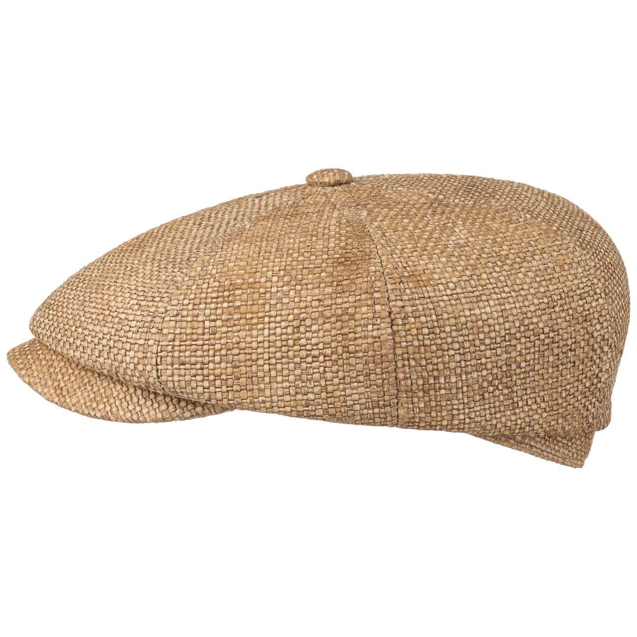 Hatteras Toyo Classic Flat Cap by Stetson  straw cap