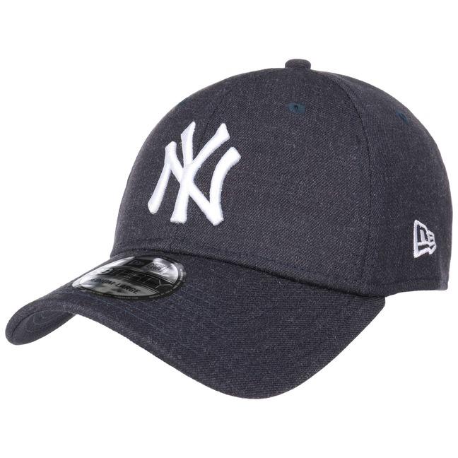 MLB NEW YORK YANKEES NEW ERA 39THIRTY FITTED CAP HEATHER BLACK
