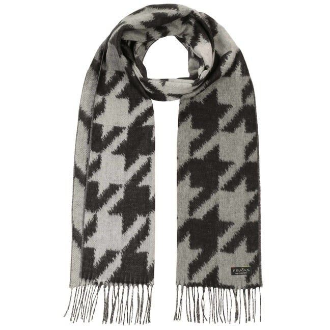 Cashmink Houndstooth Scarf by Fraas, EUR 29,95 --  Hats, caps ... bbad2ded53df