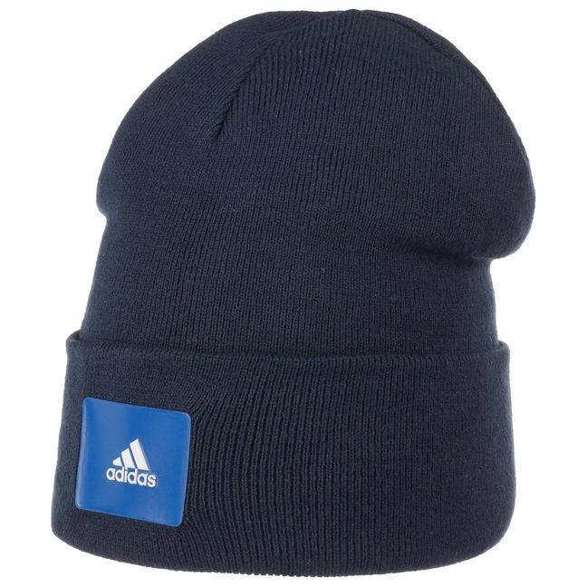 Woolie Logo Beanie Hat by adidas 05b4ed9c76d