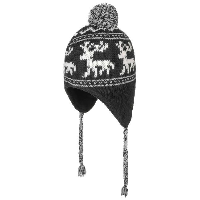 14af137afcd Reindeer Pompom Hat by Lipodo