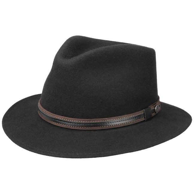 f67555cb7 Waterproof Traveller Wool Felt Hat by bugatti