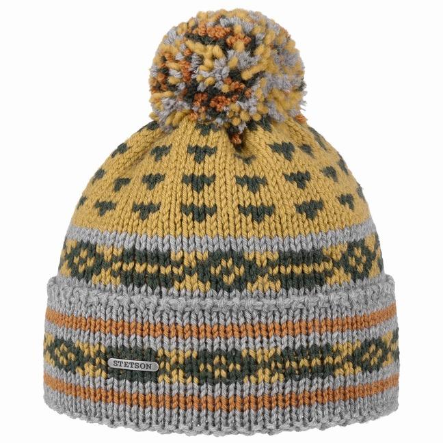 425e845a1 Multicoloured Pompom Hat by Stetson