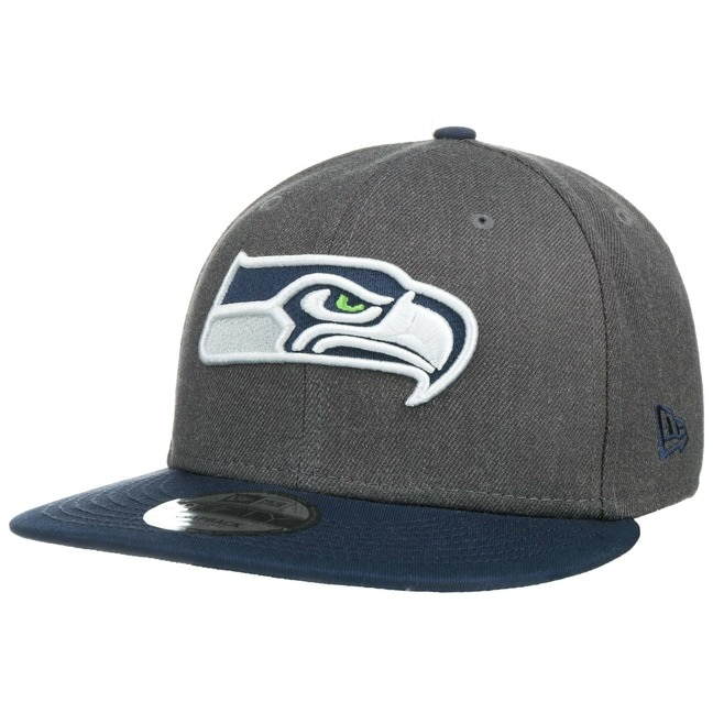 286f25233bf 9Fifty Heather Seahawks Cap by New Era