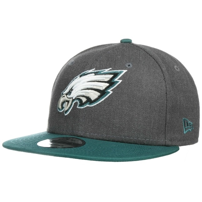 47730be0 9Fifty Heather Eagles Cap by New Era