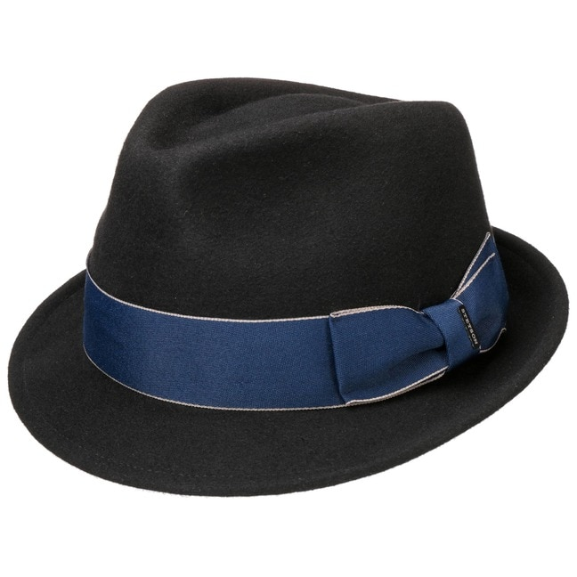 eacfba2d57beb2 Boston Blue Ribbon Wool Felt Hat by Stetson - 89,00 €