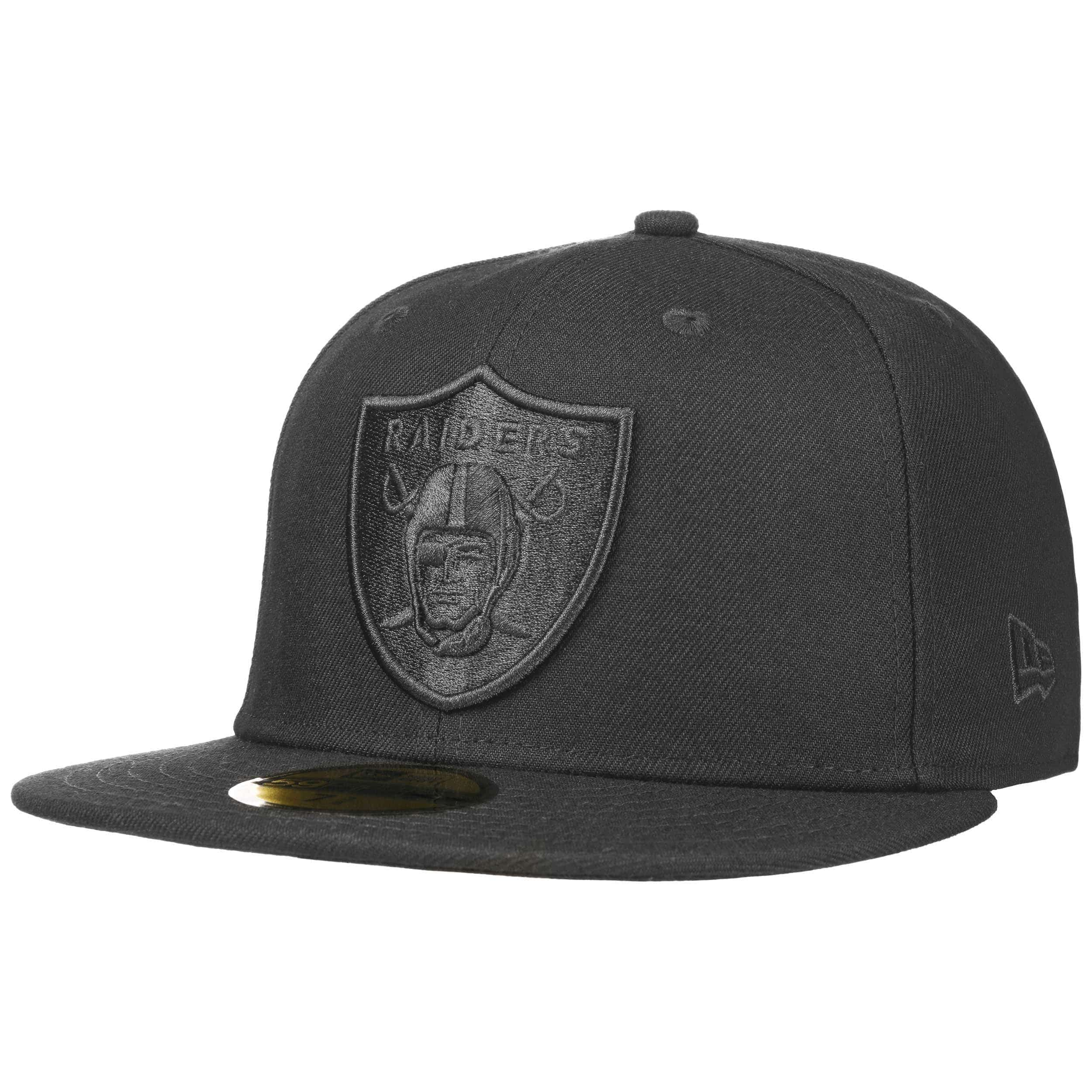 NEW Era 59 fifty fitted cap-Poly Oakland Raiders
