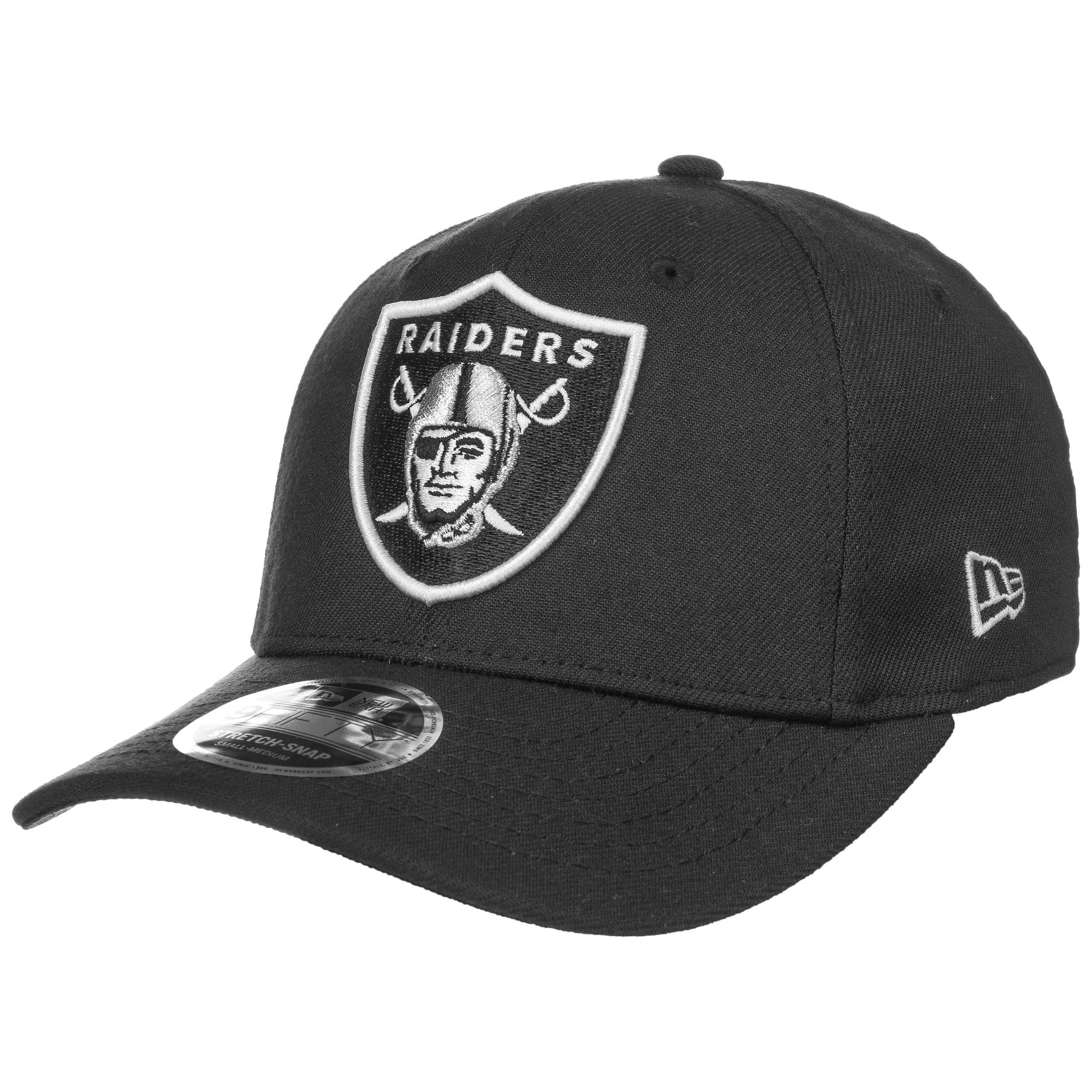Oakland Raiders New Era 9Fifty Stretch Snapback Cap