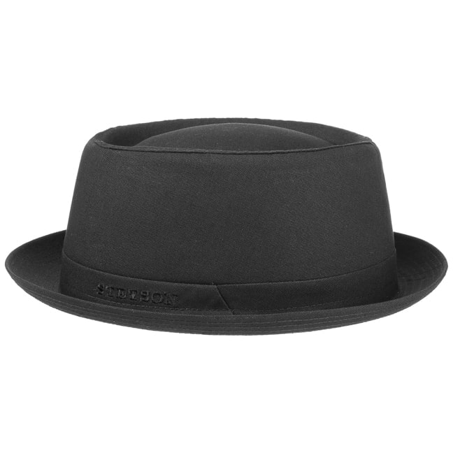 9241490ee Athens Cotton Pork Pie Hat by Stetson