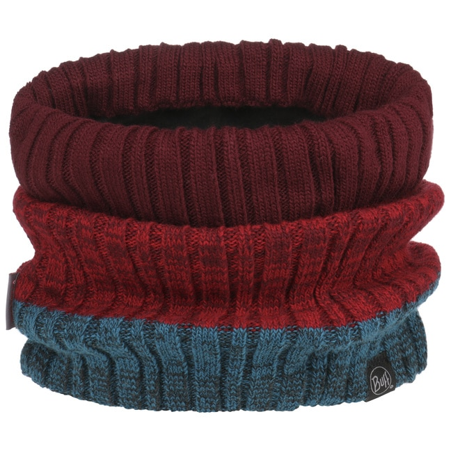 Buff New Original Neck Warmer in Cashmere Red