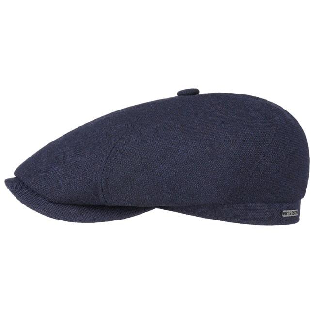 0473472864c Brooklin Wool Cashmere Flat Cap by Stetson