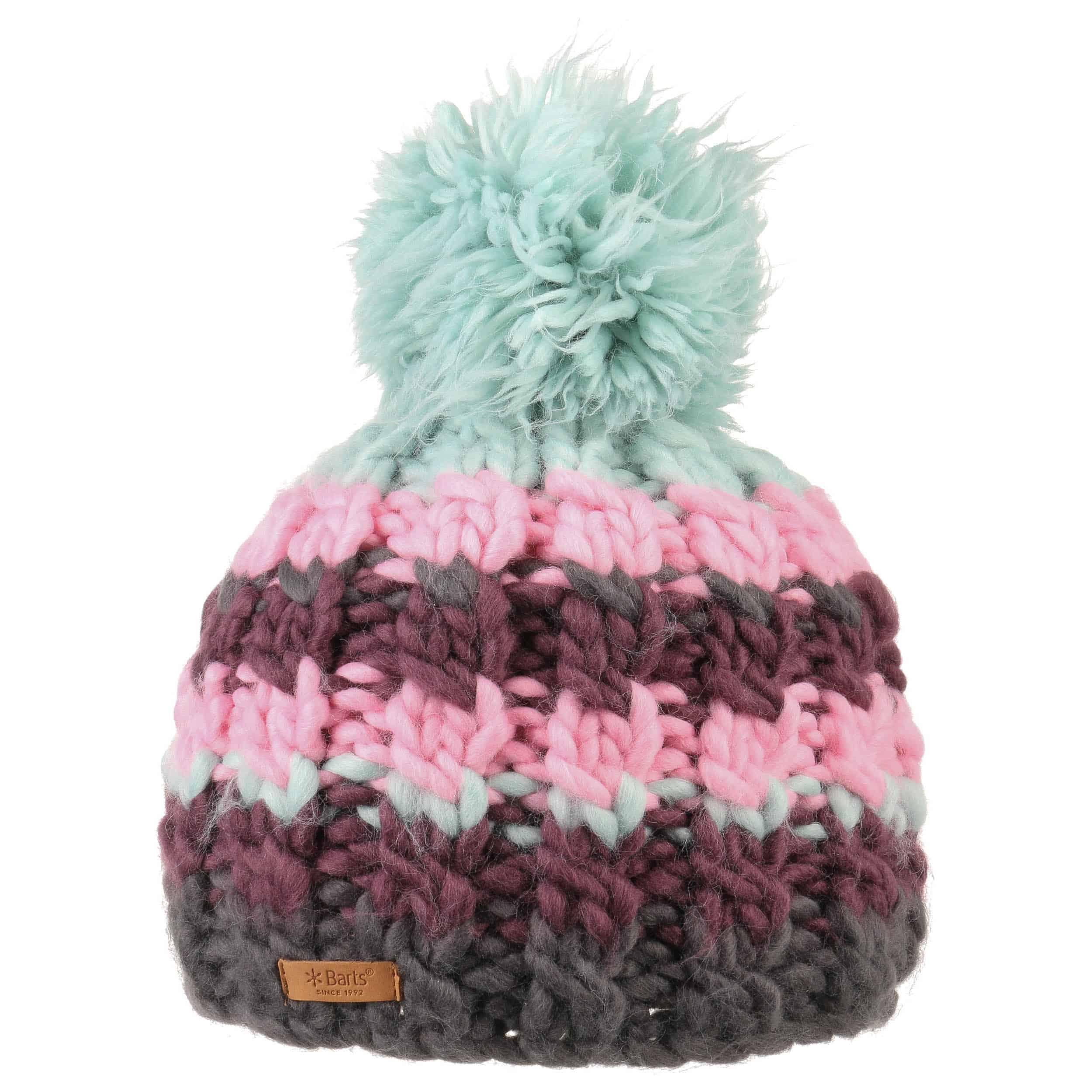 New Barts Womens Feather Beanie Beanie Headwear Beanie Hat