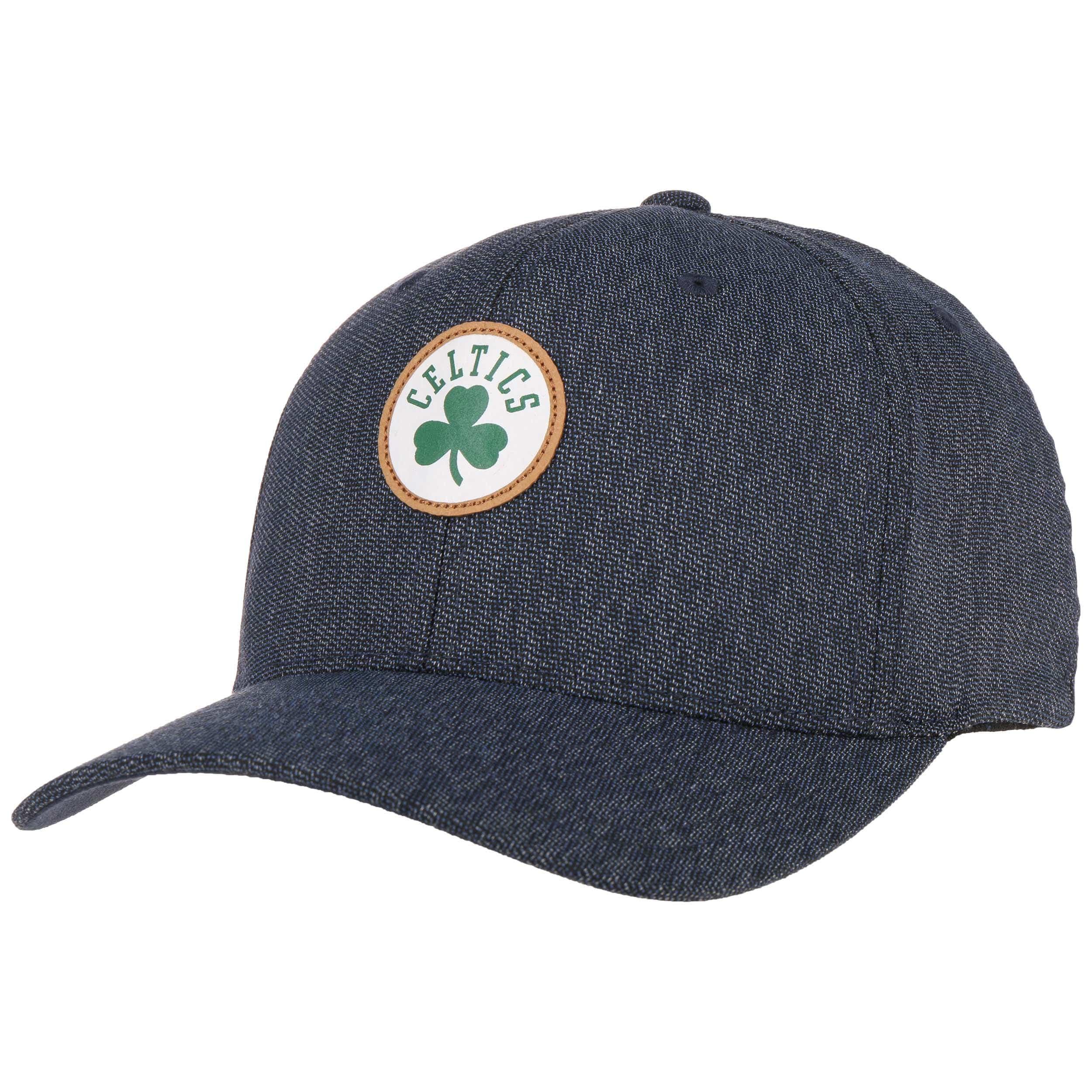 Mitchell /& Ness HWC Kraft 110 Celtics Casquette de baseball Bord incurv/é