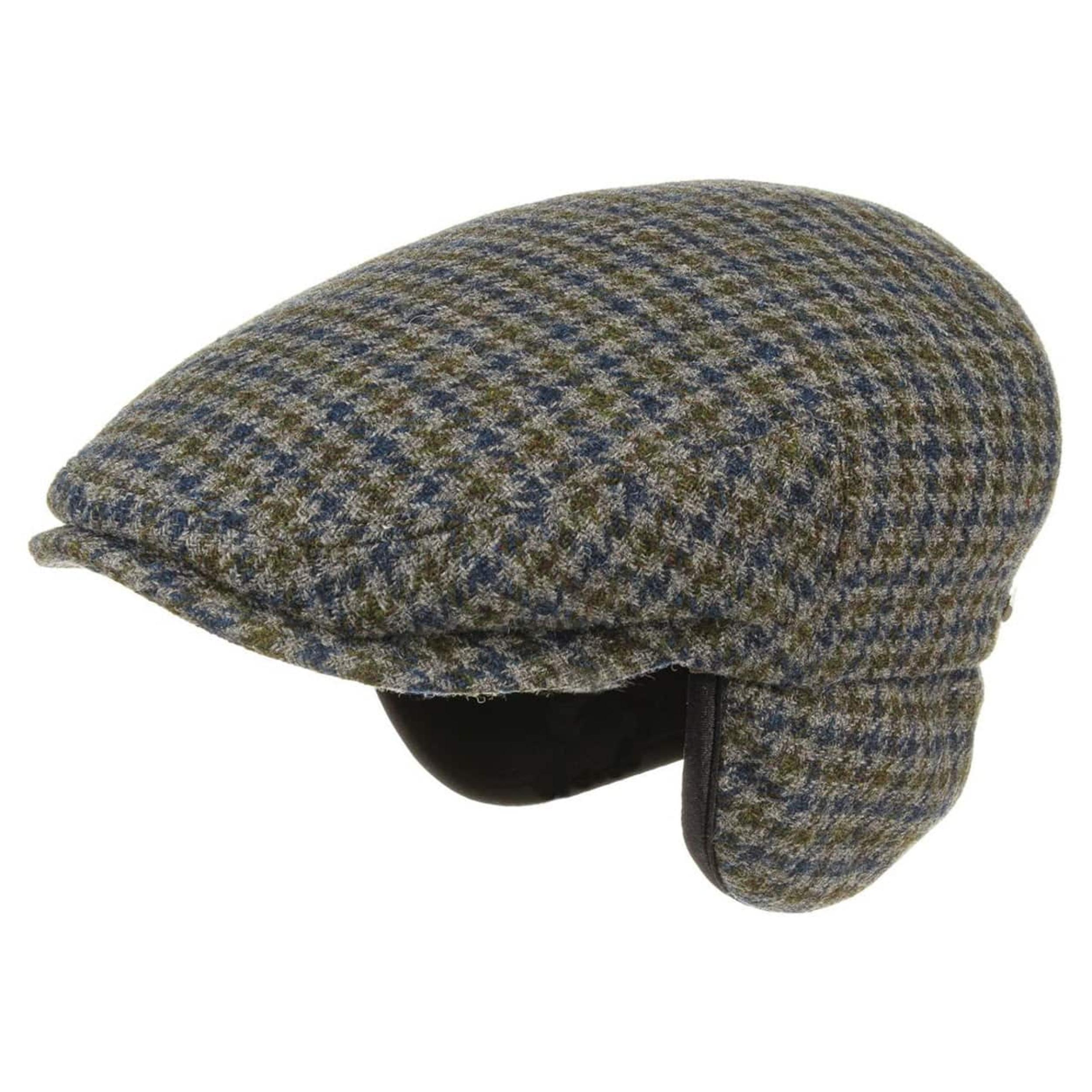 Stetson Kent Wool Earflaps Flat Cap Men Caps flat cap caps winter Winter