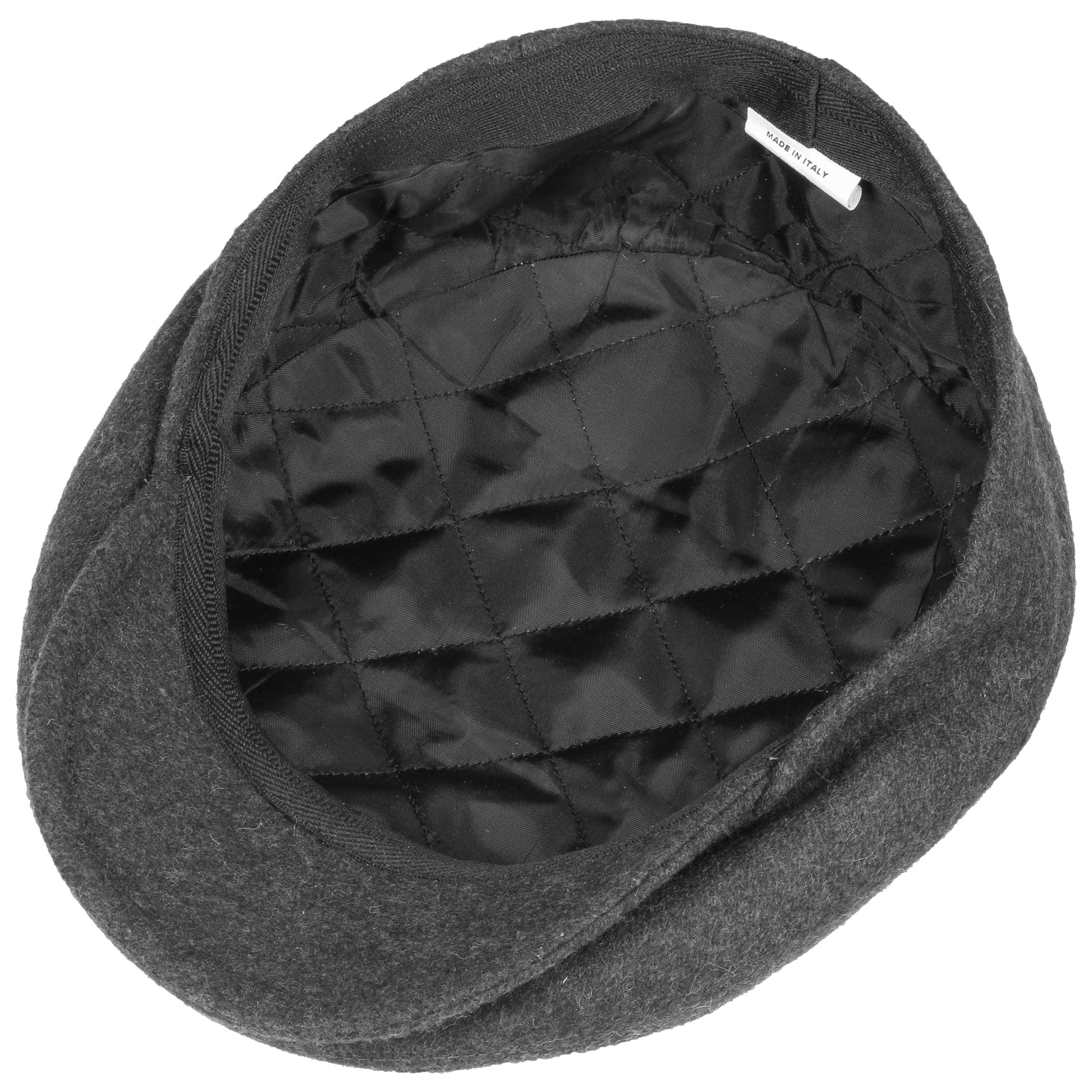 Autumn Winter Lipodo Sport Flat Cap Olive-Green for Men and Women Flat Cap with Peak in Size 62 cm Brown Sporty Peaked Cap