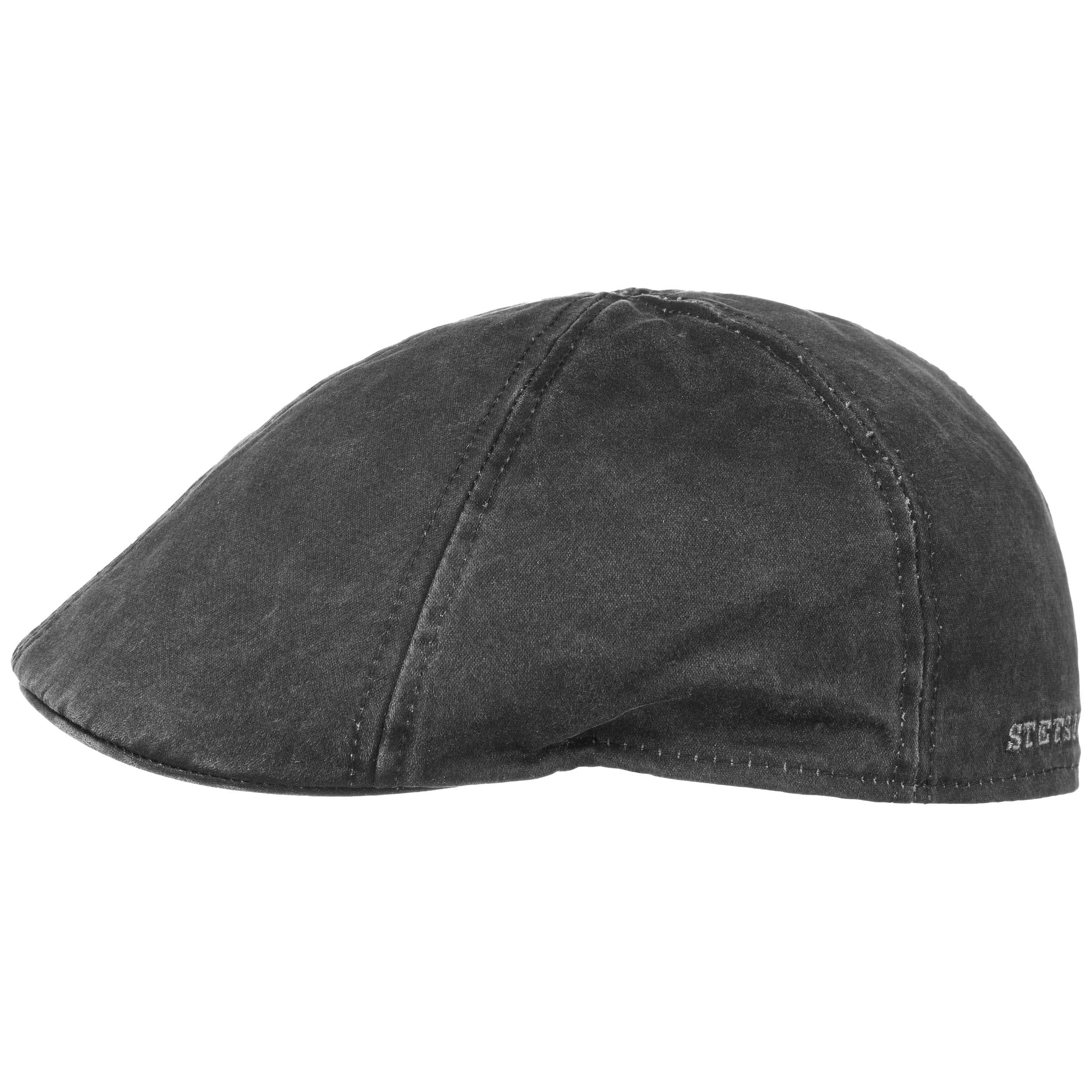Small-55cm Quality Brown Wax Cotton Fully Lined Traditional Gent/'s Men Flat Cap