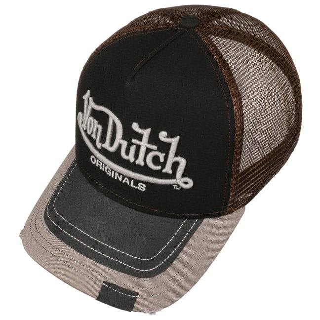 f1dae63cc7423b Premium Logo Trucker Cap by Von Dutch - grey 1 ...
