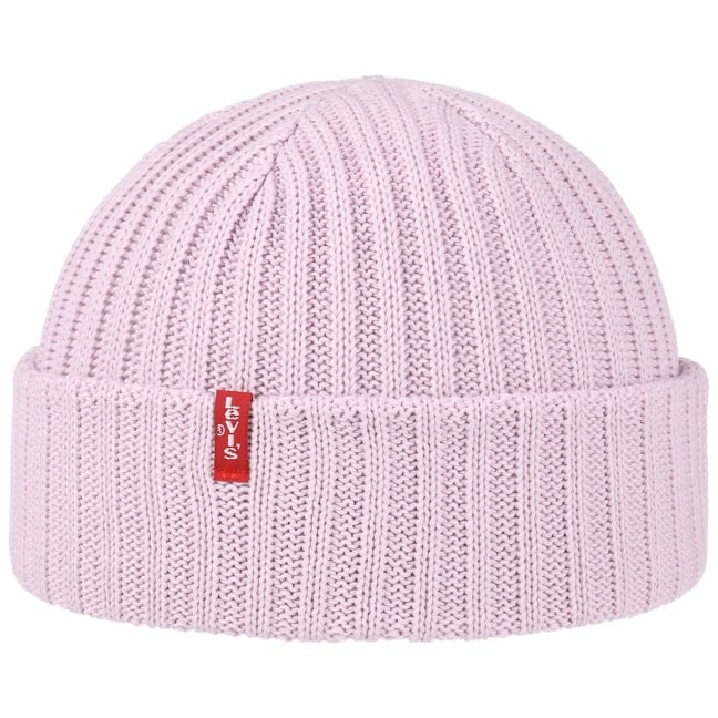 de93b5be0a2 Ribbed Cotton Beanie Hat by Levi´s
