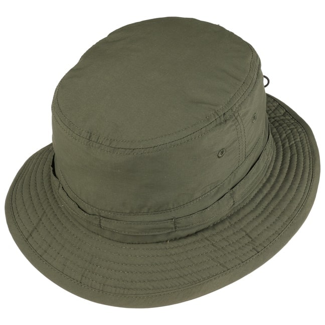 212aa66b5bab8 Supplex Fishing Hat with Chin Strap by Lipodo - olive 1 ...