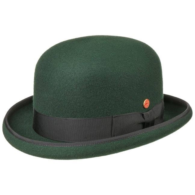 Traditional 100/% wool Bowler Hat available with a choice of sizes