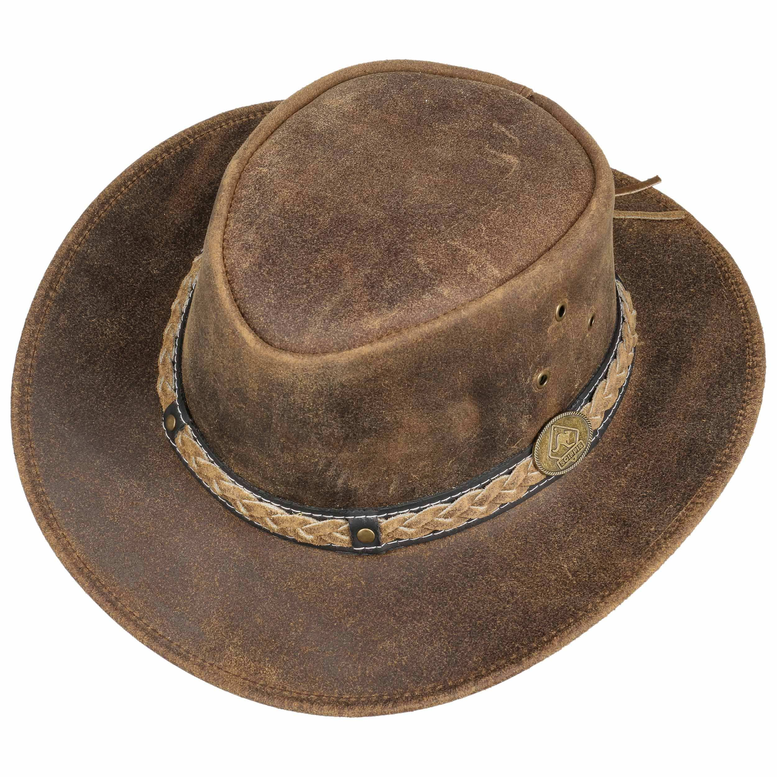 Scippis Darwin Leather hat